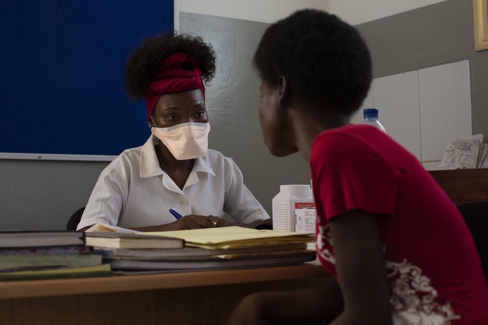 Tratamiento contra la VIH en Beira