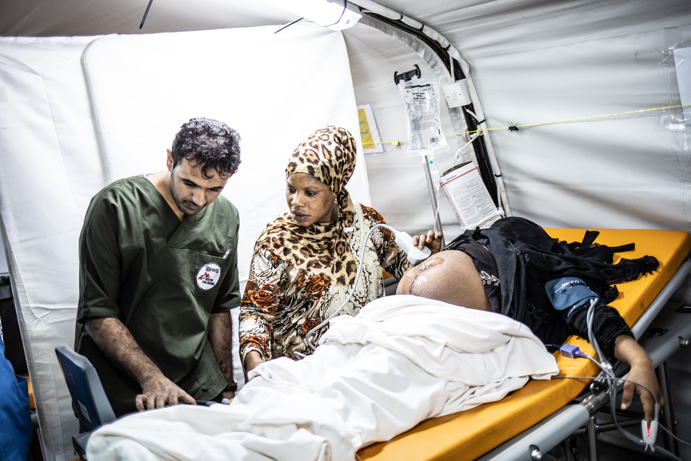 Enfermero en Yemen