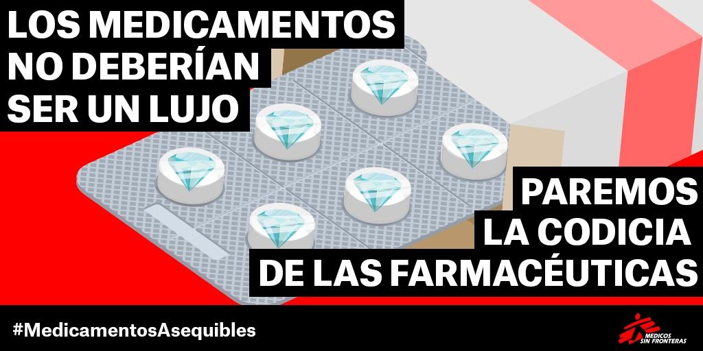 Los medicamentos no deberían ser un lujo MSF