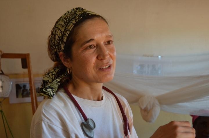Foto de Dra. Ilaria Moneta de MSF