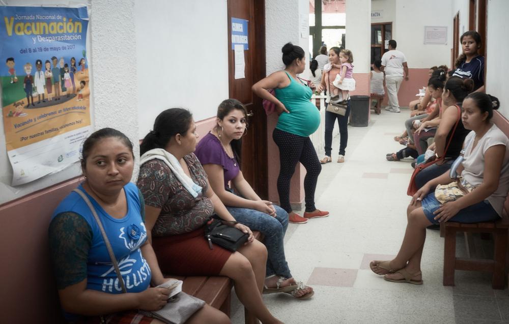 La clínica está repleta de pacientes por eso fue muy importante volver a brindar atención médica las 24 horas del dia, los 7 días de la semana.