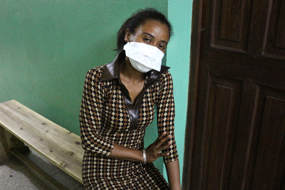 Innocente, de 33 años, es médico en Madagascar. Fue infectada por la peste y luego curada en el centro de tratamiento donde MSF actualmente trabaja en Tamatave.