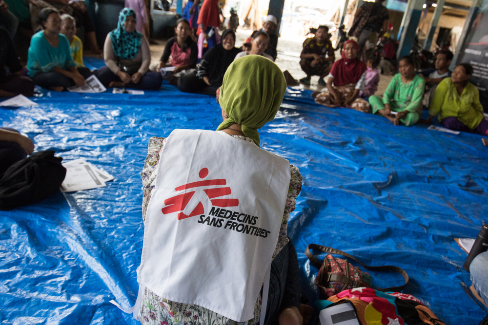 Psicóloga de Médicos Sin Fronteras en Indonesia