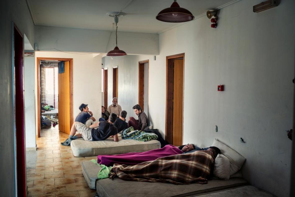 Migrantes y refugiados en Grecia © Alessandro Penso