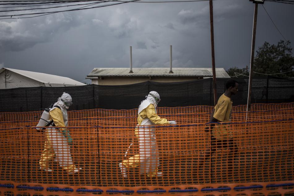 Centro de Tratamiento de Ébola de Médicos Sin Fronteras