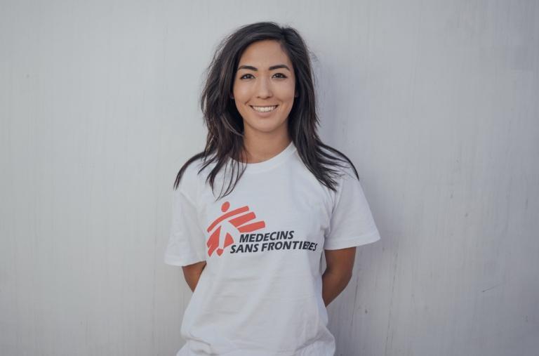 Yuka, experta en Asuntos Humanitarios, 30 años, Irlanda. Esta es la cuarta y quinta misión de Yuka con MSF, pero es la primera vez que trabaja en labores de búsqueda y rescate.