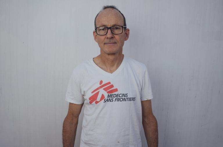 Shaun Cornelius, logista, 65 años, Nueva Zelanda. Su papel ha sido integral en la preparación del barco: desde el lanzamiento hasta la gestión a la hora de adaptar el barco para garantizar que esté listo para las operaciones de búsqueda y rescate.