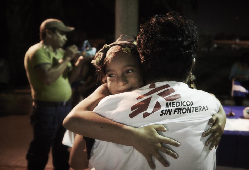 Tenosique, Tabasco. En 2015, MSF ofreció atención médica y de salud mental, incluyendo actividades psicosociales, a 9.130 centroamericanos. ©Christina Simons/MSF