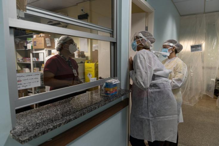 MSF atendiendo la salud mental de los médicos en Manaos, Brasil