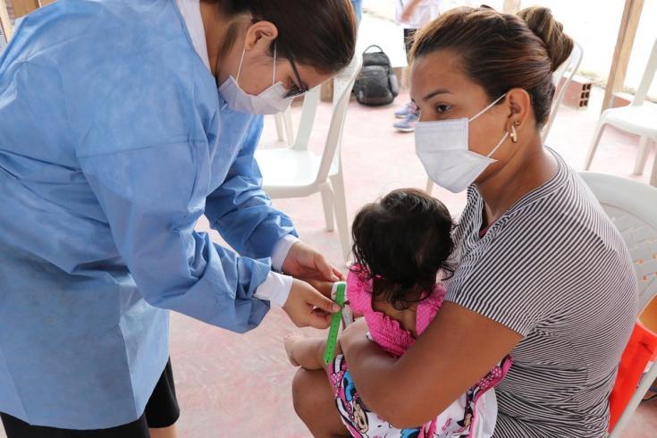 Llevamos a cabo actividades de promoción y prevención de la salud en La Gabarra. Febrero de 2021