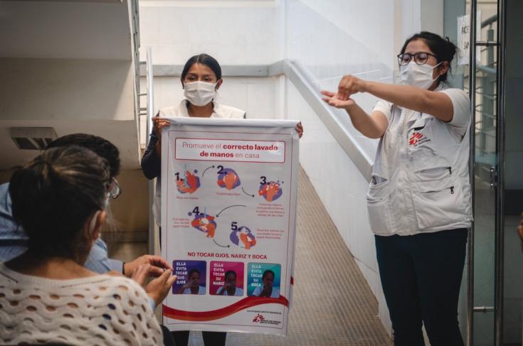 Desde el principio de nuestra intervención en Bolivia, hemos organizado más de 800 sesiones informativas sobre el COVID-19, para que la gente sea sensibilizada y orientada y acceda a información correcta sobre la enfermedad. Agosto de 2021