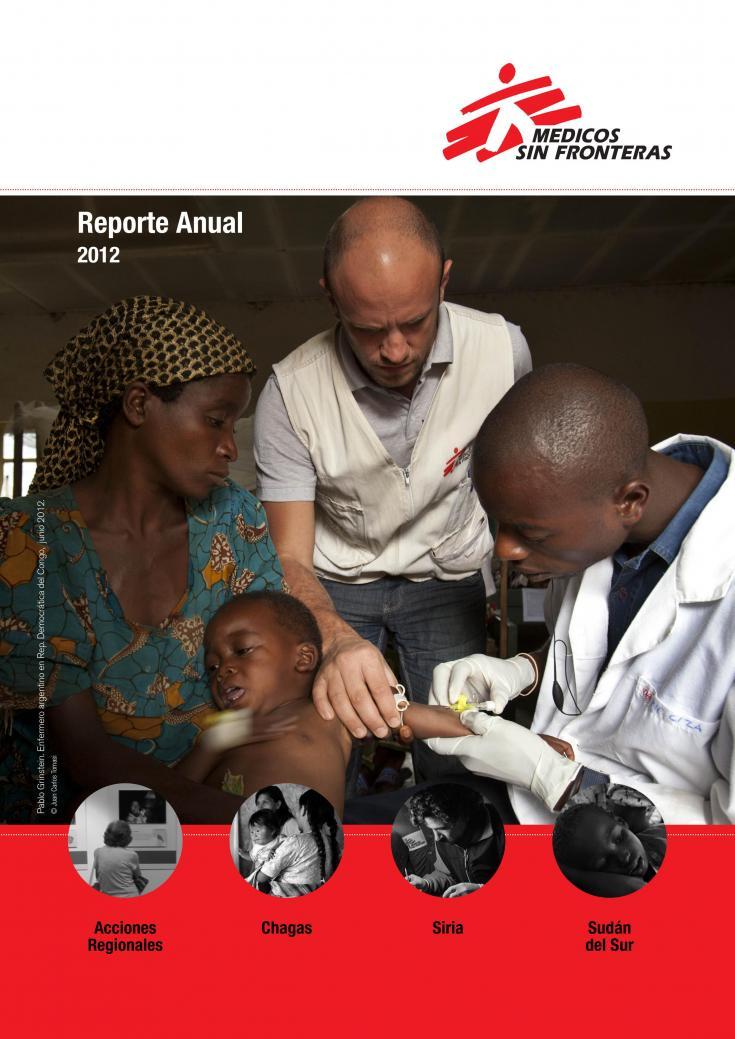 Pablo Grinstein, enfermero argentino en República Democrática del Congo, en junio de 2012.