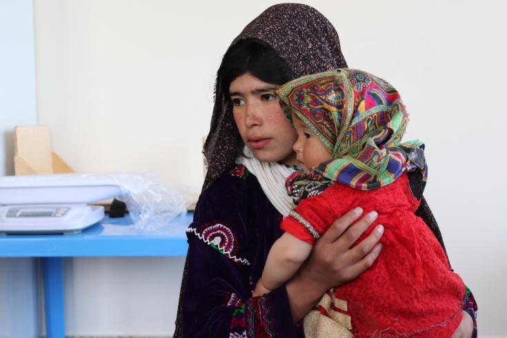 Desplazados en Afganistán