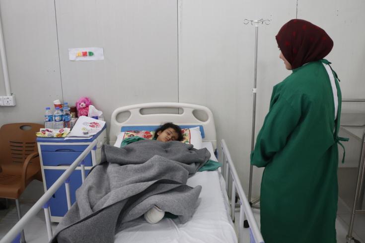 Atención médica un año después de la guerra de Irak
