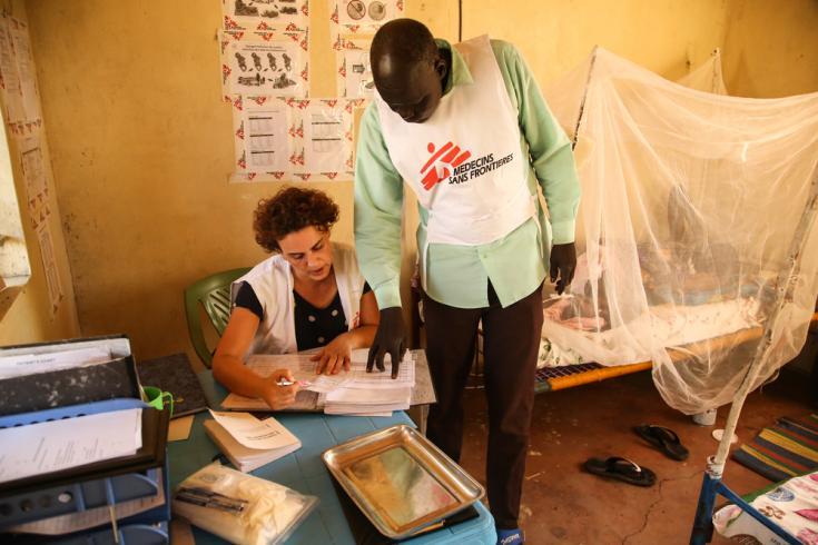Hospital de MSF en Sudán del Sur