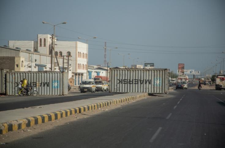 Guerra en Yemen ciudad