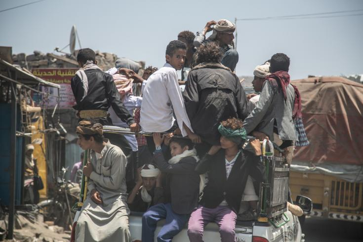 Población en Yemen