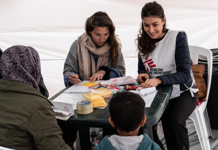 Campaña de vacunación en Grecia