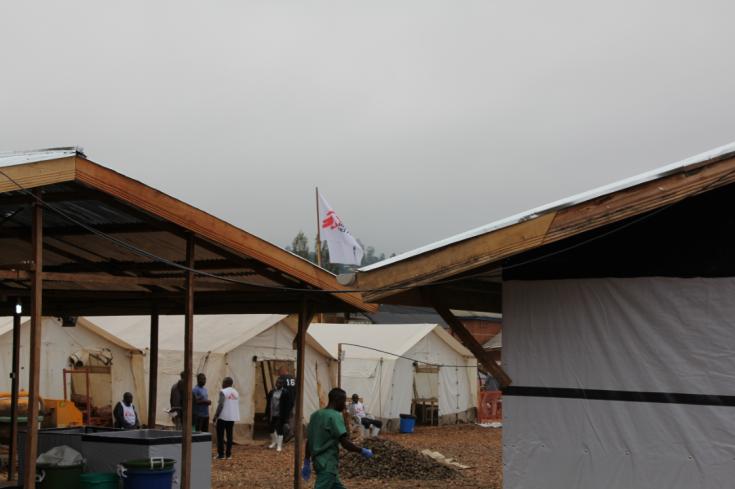 Luchando contra la epidemia de Ébola en República Democrática del Congo