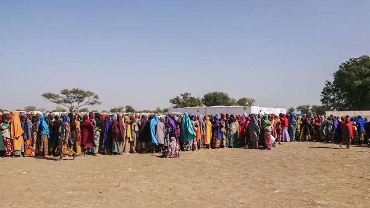 Desplazados nigerianos huyen a Camerún