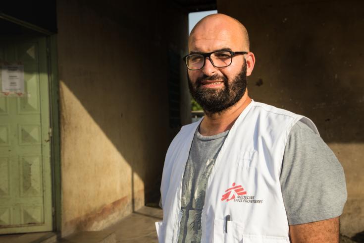 Médico de Médicos Sin Fronteras en Sudán del Sur