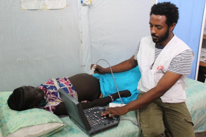 Campo de refugiados de sursudaneses en Etiopía