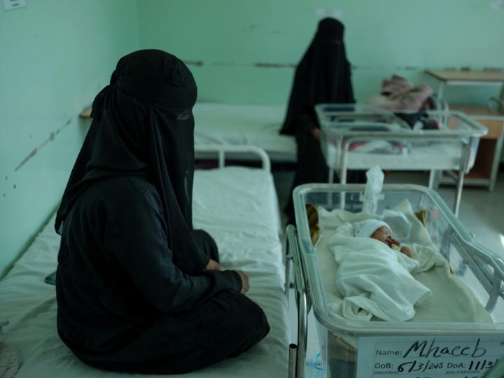 Atención en salud pediátrica en Yemen