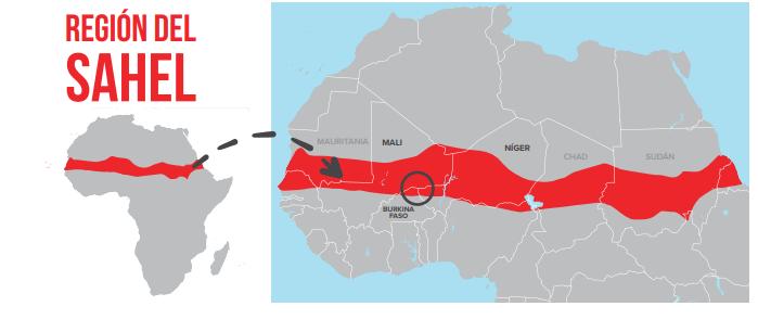 Mapa El Sahel