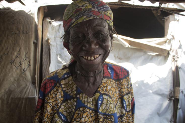 Desplazada interna en Nigeria