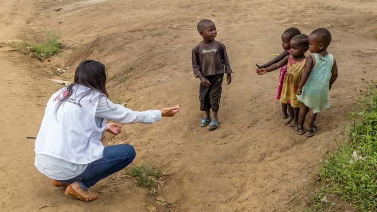 Niños de República Democrática del Congo