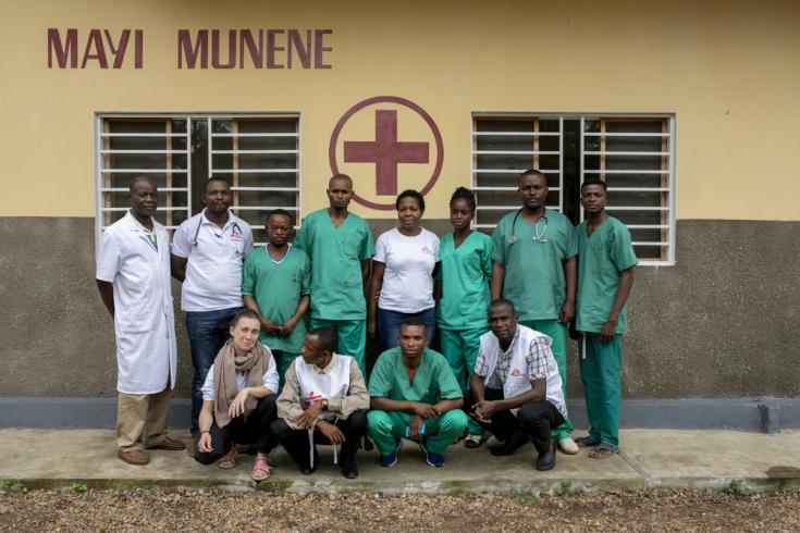 Equipo de Médicos Sin Fronteras en República Democrática del Congo