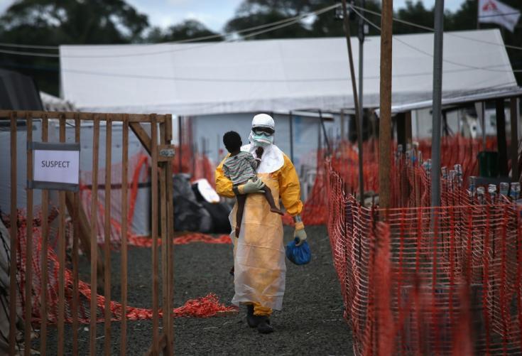 Epidemia de Ébola en Liberia (2014).