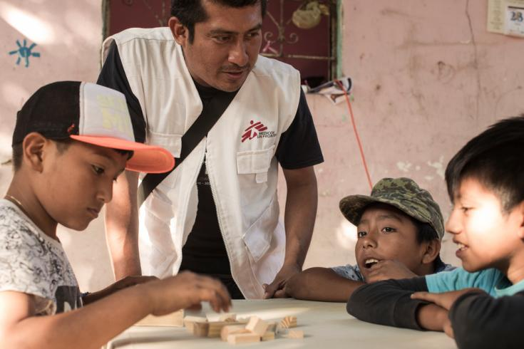Atención a víctimas de violencia en México