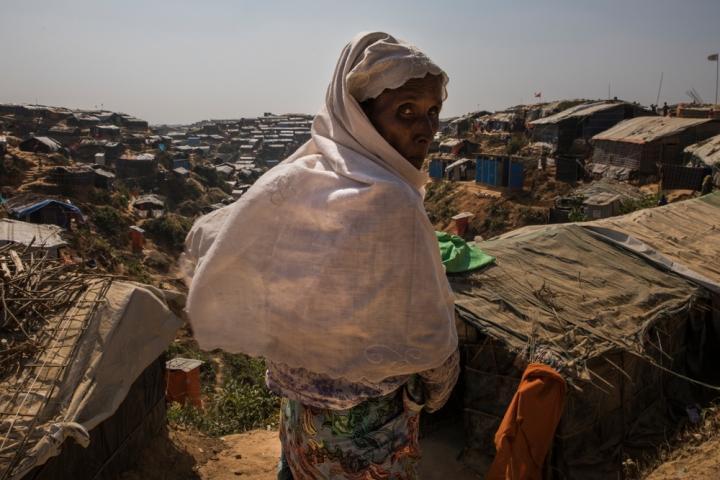 Refugiada rohingya en Bangladesh