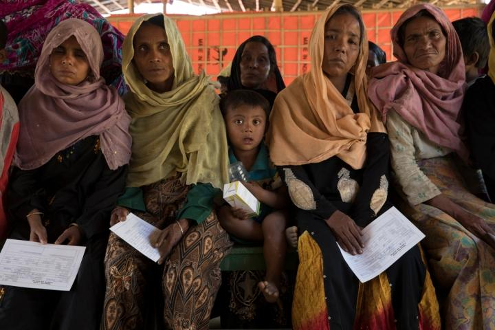 Médicos Sin Fronteras en campo de refugiados rohingya