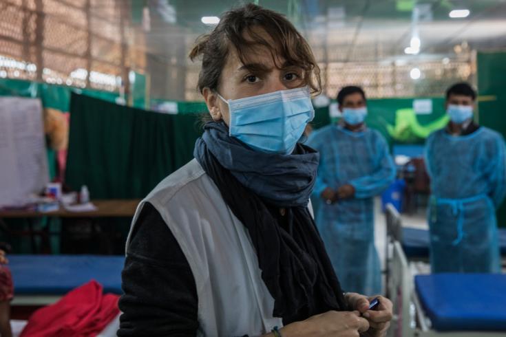 Carla Pla, responsable de equipo médico en Moynarghona. ©Anna Surinyach