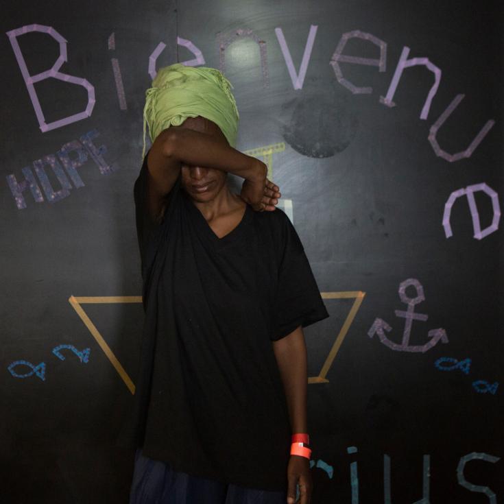 Historias en el Aquarius: Salam, 34 años, Eritrea