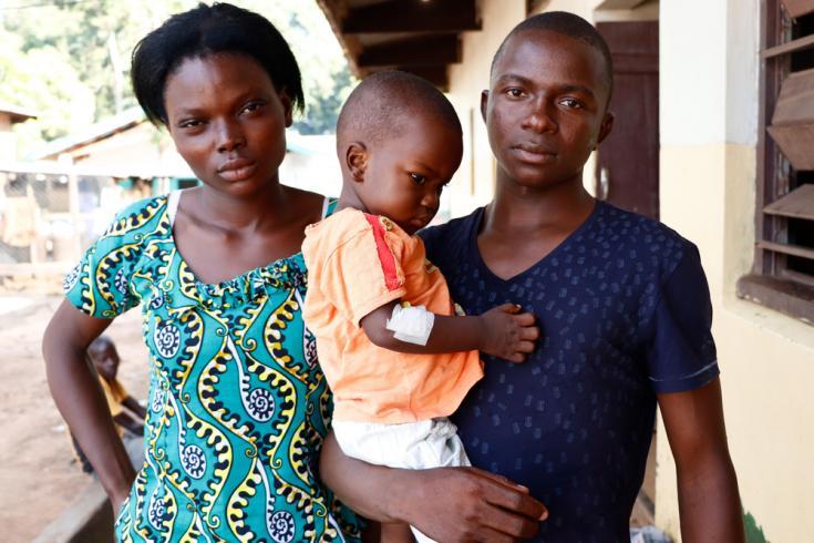 Tratamiento contra la crisis de desnutrición y la malaria