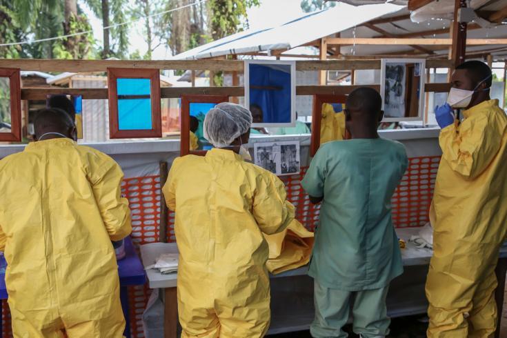 Profesionales de Médicos Sin Fronteras en República Democrática del Congo