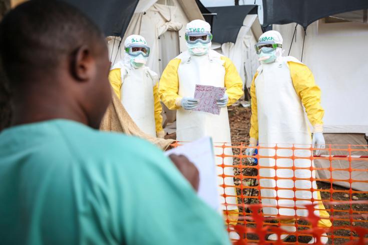 Prevenir el contagio de Ébola en República Democrática del Congo