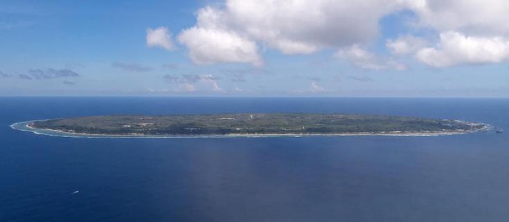 Isla donde Australia envía refugiados