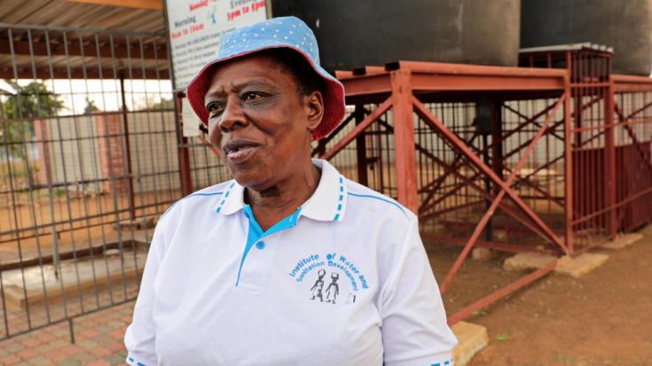 Agua y saneamiento en Harare, la capital de Zimbabue