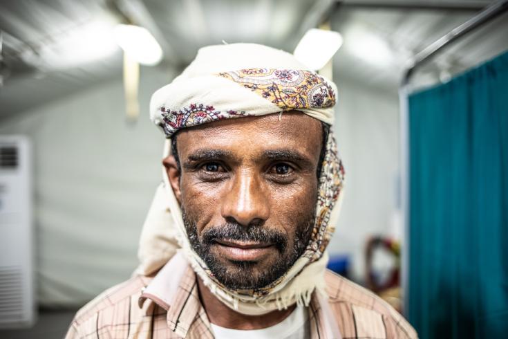 Said: su hija Amarah fue herida por una mina en Yemen