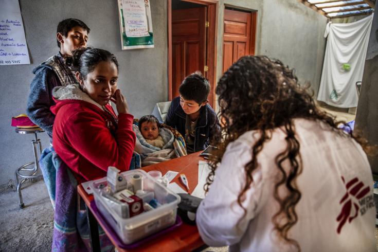 En Guerrero, atención a mujeres embarazadas y post-parto.
