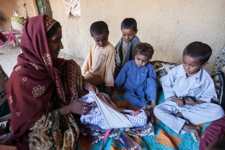Niños en Pakistán.