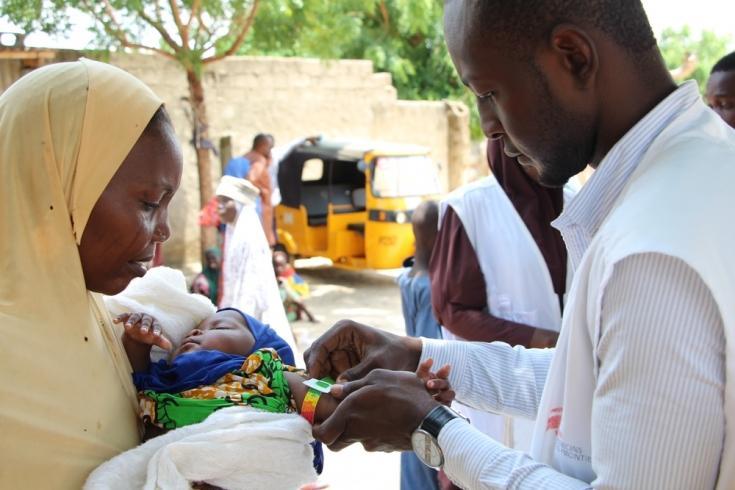 Campo de desplazados de Maiduguri, en el estado de Borno.