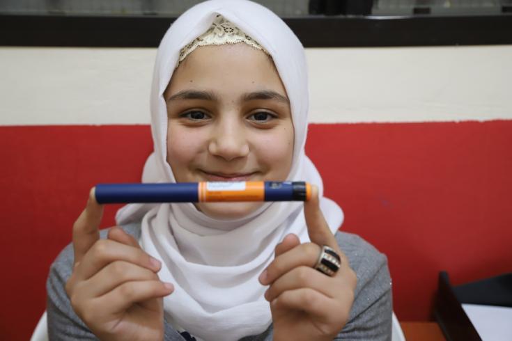 Sidra tiene 12 años e ingresó a la clínica hace casi un año.