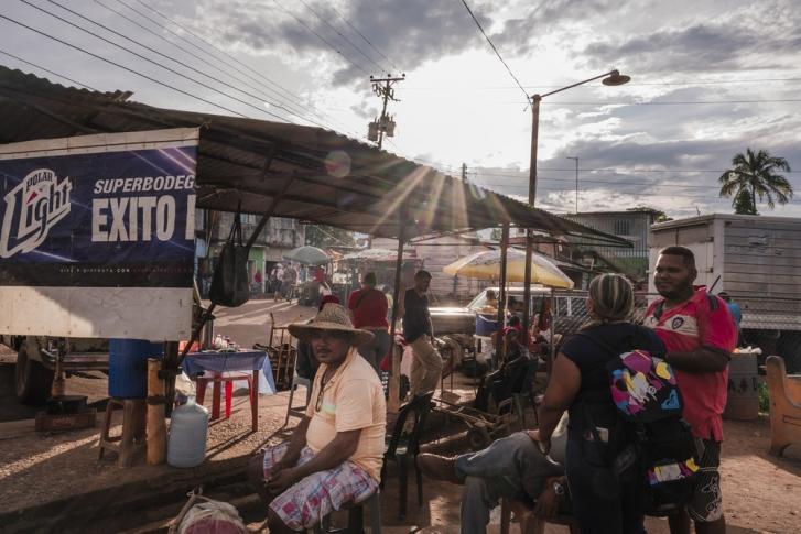 Las Claritas es la localidad más poblada del municipio de Sifontes, en Bolivar, el mayor estado de Venezuela.