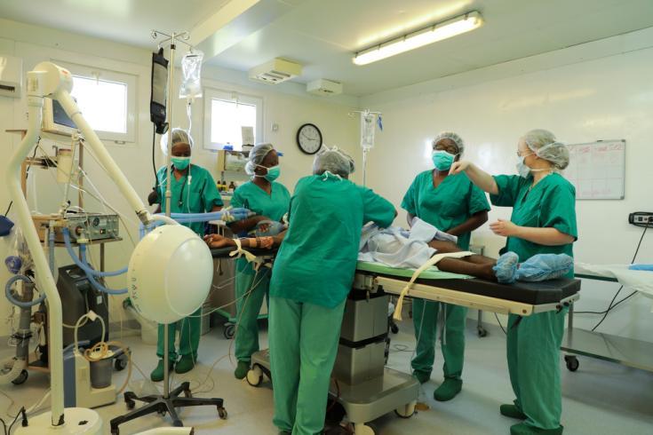 Hospital de Tabarre, especializado en urgencias de traumatología (Haití).