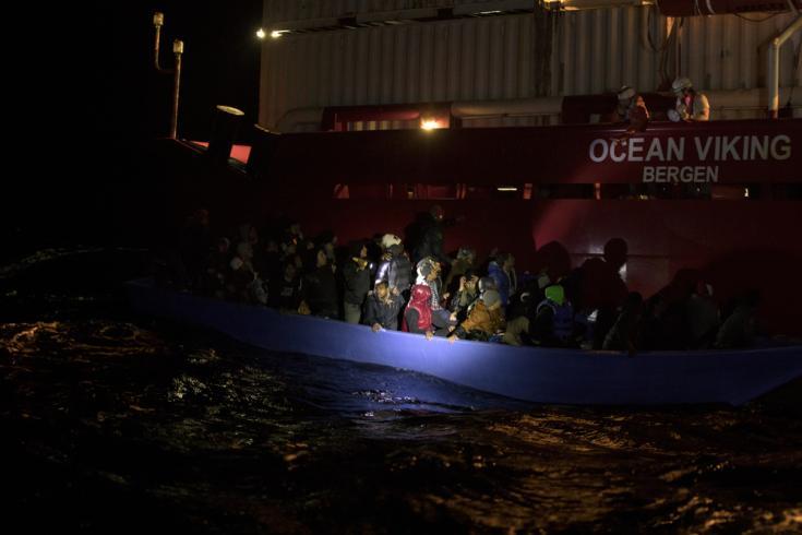 Rescate del Ocean Viking